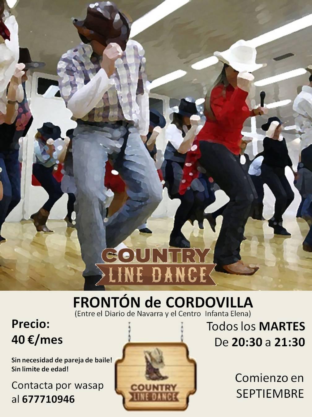 country line dance concejo cordovilla