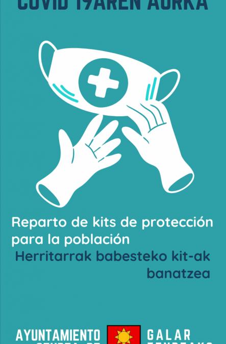 Entrega Kits de protección